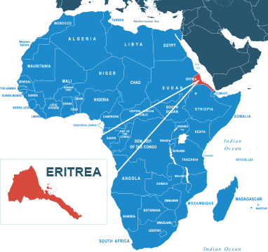 Shipping to Eritrea from USA