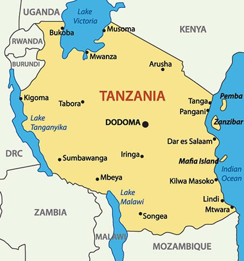 Shipping to Tanzania from USA