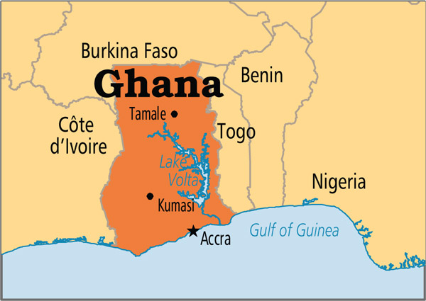 Shipping to Ghana from USA