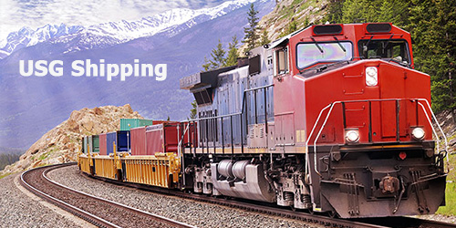 Shipping by Rail in USA and Canada and Landlocked Countries